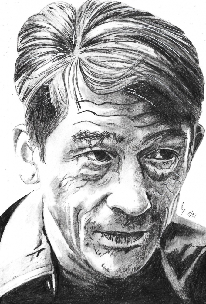 John Hurt by patrick